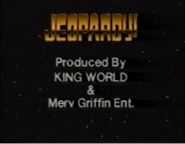 Jeopardy! Produced b King Worl & Merv Griffin Ent