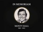 In Memoriam Monty Hall 1921-2017