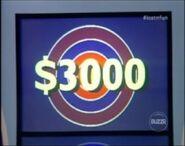 $3,000 Bullseye