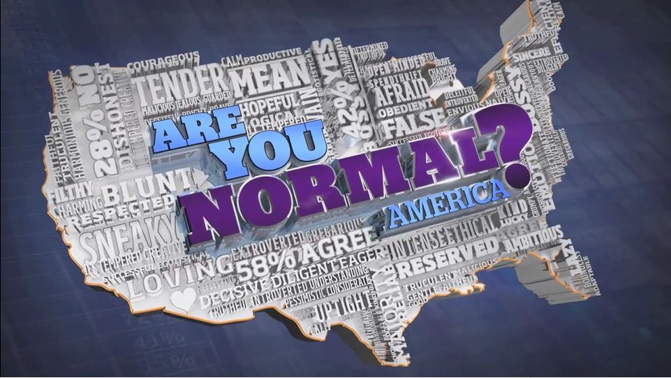Are You Normal, America?