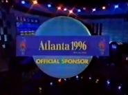 Jeopardy! Atlanta 1996 Official Sponsor 1995