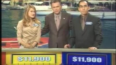 Wheel of Fortune The First Modern Day Two-Way Tie