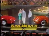 WOF King World logo - New York 1988