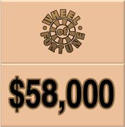 WOF $58,000