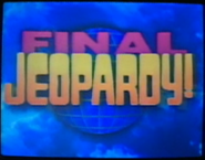 Jeopardy! 1994 Final Jeopardy! intertitle