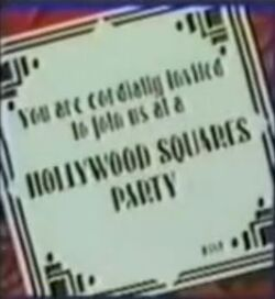 Hollywood squares party.JPG