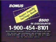 PhoneWOF Super Family Savings Book