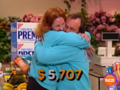 Supermarket Sweep Blue Couple Win