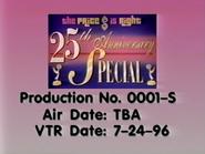 TPIR 25th Anniversary Production Slate