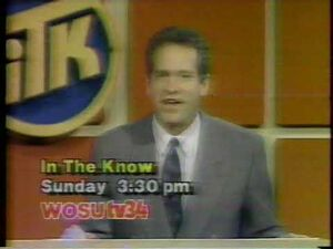 In The Know Promo Commercial WOSU TV34 - 1992 - Columbus, Ohio - High School Quiz Show-2
