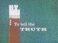 To Tell The Truth Logo 1968 b
