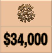 WOF $34,000