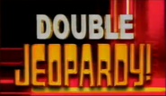 Double Jeopardy! White Double And Gold Jeopardy