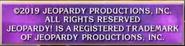 Jeopardy Closing Card 2019-2