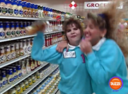 Supermarket Sweep Girl Win