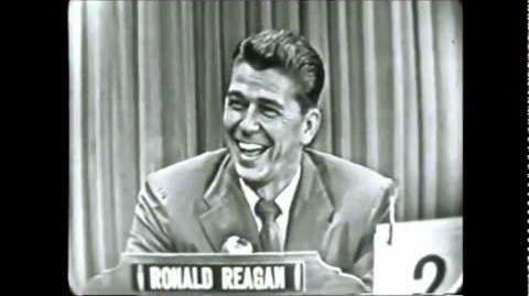 What's My Line - Ronald Reagan (1953)