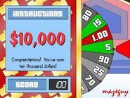 $10,000 Win on Big Wheel-1