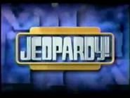 Jeopardy! 2000-2001 season title card screenshot 21