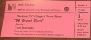 50 Grand Slam (December 03, 1976)
