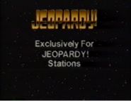 Jeopardy! Exclusive for Jeopardy! Stations