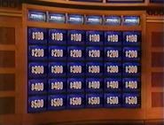 Jeopardy! Sushi Bar Era Set with Original Values