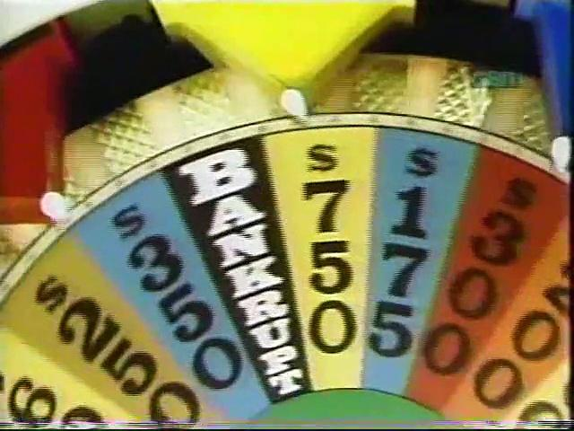 Wheel Of Fortune First Nighttime show 1983