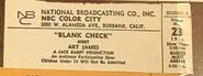 Blank Check (May 23, 1975)