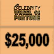CWof $25k