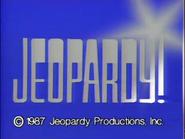 Jeopardy! 1987 copyright card