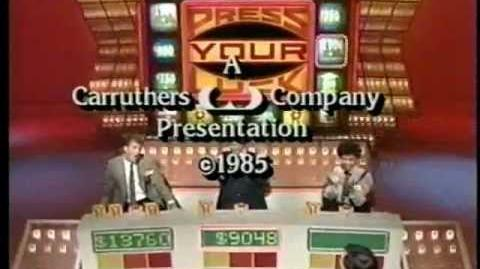 Press Your Luck 427 - Joey Damon Queta (GSN version)