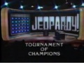 Jeopardy! Tourament Of Champions 1985