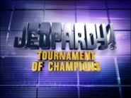 Jeopardy! 2001 Tournament of Champions title card