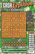 Cash Explosion Cashword