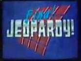 Jeopardy! 1997-1998 Final Jeopardy! intertitle