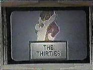 The Thirties