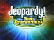 Jeopardy! Season 18 Teen Tournament Title Card