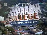 Jeopardy! Season 14 College Championship Title Card