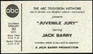 Juvenile Jury (February 20, 1971)