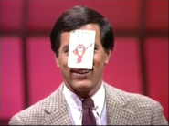 Whammy Sticker on Peter's Forehead