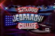 $25,000 Jeopardy! College Championship S7 1991