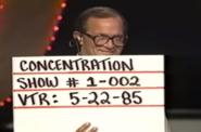 Concentration 85 Production Slate 2