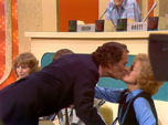 Gene and Betty Sharing a Kiss
