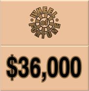 WOF $36,000
