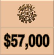 WOF $57,000