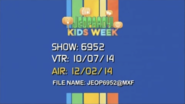 Jeopardy! Production Slate 12-2-2014
