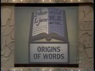Origins of Words