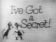 Ive got a secret 1952-show