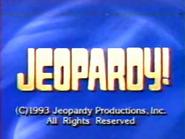 Jeopardy! 1992-1993 season copyright card-4