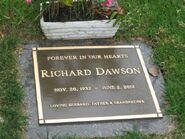 Richard dawson grave