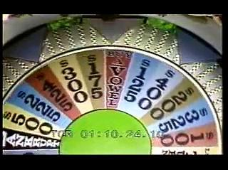 Wheel of Fortune (August 28, 1974) Pilot Marge Gary Roseanne